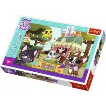 TREFL Puzzle 100 pcs Littlest Pet Shop -...