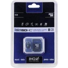 Флешка INTENSO microSDHC Karte 8GB