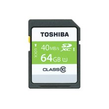 Mälukaart TOSHIBA SD Card 64GB UHS-1(40MB/S)