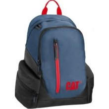 CAT Laptop backpack The Project, blue-red