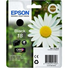 Tooner Epson Ink T1801 Black Claria | 5,2 ml...