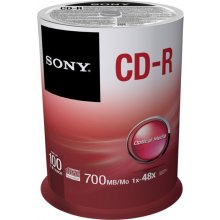 Диски Sony 100 x CD-Rs 700 MB...