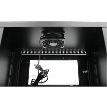 StarTech.com RK619WALLGB, Black, Wall...