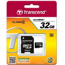 Mälukaart Transcend Micro SDHC 32GB Card...