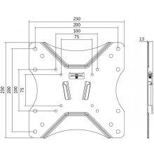 LogiLink - TV wall mount, fix, 23-42