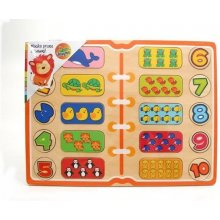 Brimarex Wooden puzzle - Learning counting