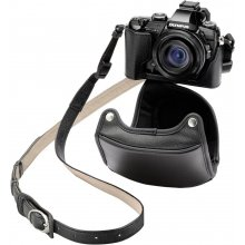 OLYMPUS CSCH-118 Leather Bag black for...
