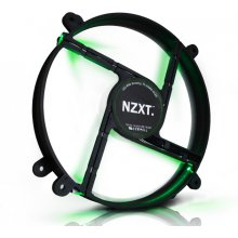 NZXT FS-200 LED Fan - зелёный