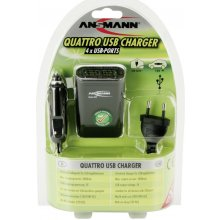 Ansmann Quattro USB Ladegerät
