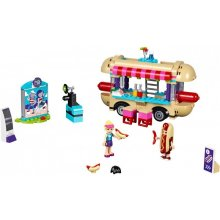 LEGO Friends van koos hot dogs in the park