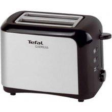 TEFAL Express TT3565 Toaster edelstahl/must