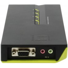 LevelOne 4-PORT USB KVM SWITCH W/AUDIO