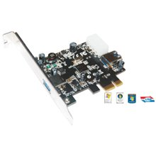 Mcab PCI EXPRESS USB 3.0 CARD - 1+1