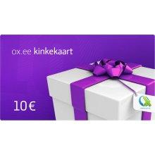 OX.ee kinkekaart 10 €