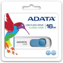 Флешка ADATA A-DATA 16GB C008, 16 GB, USB...