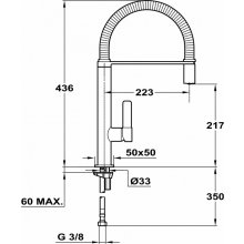 Teka FO 939 kitchen faucet