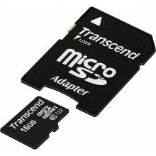 Mälukaart Transcend mälu card microSDHC 16GB...