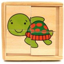 Brimarex Wooden Turtle Pads