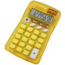 Kalkulaator Olympia LCD 825 kollane