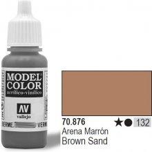 Vallejo Farba Nr132 Brow n Sand 17mlMatt