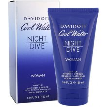 Davidoff Cool Water Night Dive, гель для...