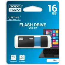 Mälukaart GOODRAM SL!de Black 16GB USB2.0