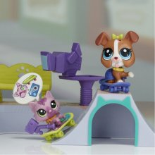 HASBRO Little Pet Shop Mini Sets - Skate...