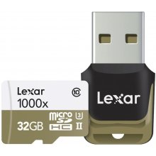 Флешка Lexar LSDMI32GCBEU1000R UHS-II 32 GB...