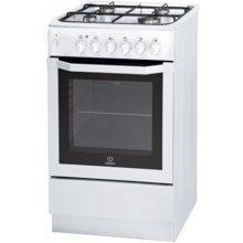 Плита INDESIT I5GSHAWU Gas-electric cooker