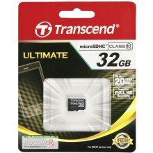 Флешка Transcend microSDHC 32GB Class 10