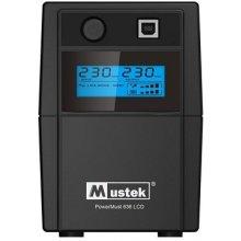 UPS MUSTEK 650VA POWERMUST 636 LCD/360W...