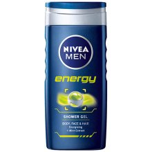 NIVEA Men Energy 250ml - гель для душа для...