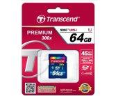 Флешка Transcend 64GB SDXC CLASS10 UHS-I