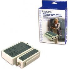 LogiLink kaabel tester for RJ45 and BNC koos...