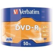 Toorikud Verbatim 43788, 4.7 GB, DVD-R, 50...