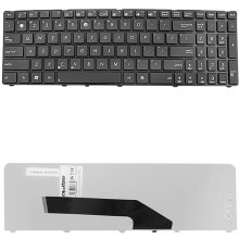 Qoltec NTB klaviatuur for ASUS K50 BLACKK