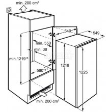 Külmik ELECTROLUX ERN2001FOW