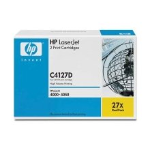 Tooner HP C4127X Toner must Kit
