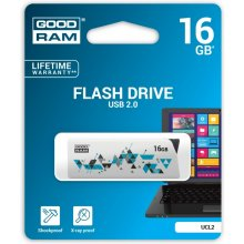 Флешка GOODRAM CLICK 16GB USB2.0 белый
