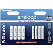 PANASONIC Eneloop Combipack 1x4 Mignon AA +...