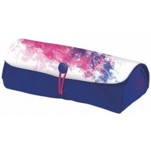 HERLITZ Pencil Pouch Rolle Color splash pink