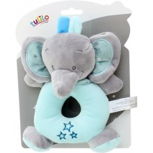 Axiom Rattle uus Baby Elephant pink 16 cm