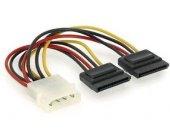Gembird кабель SATA X2 15CM / CC-SATA-PSY