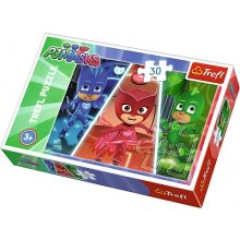 TREFL 30 pcs PJ MASKS, Brave team