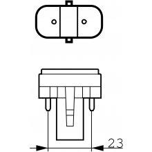 Philips Master PL-S 9W/840/2P (EEK: B)