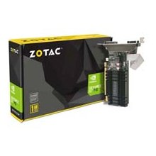 Videokaart ZOTAC GeForce GT 710, 1GB DDR3...