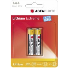 AGFAPHOTO 1x2 Extreme liitium Micro AAA LR...