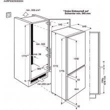 Külmik ELECTROLUX ENN2812AOW