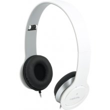 LogiLink Kopfhörer stereo 3,5mm&6,3mm valge