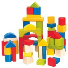 Woodyland Set of colored blocks
